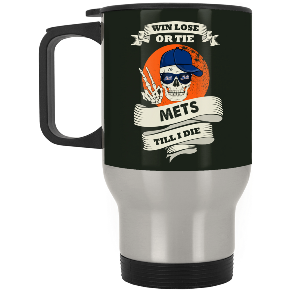 Skull Say Hi New York Mets Mugs