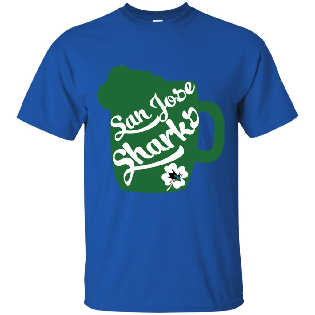 Amazing Beer Patrick's Day San Jose Sharks T Shirts
