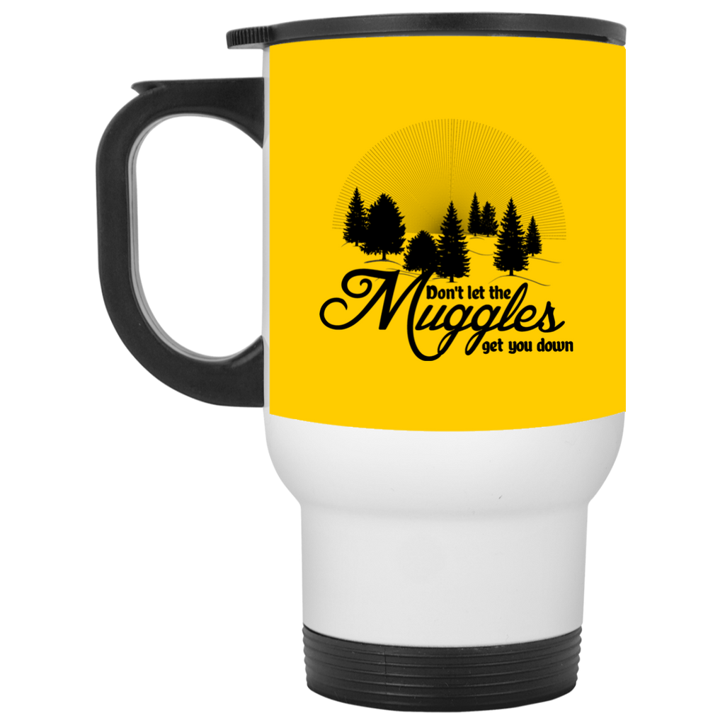 Don't Let The Muggles Get You Down Camping Travel Mugs