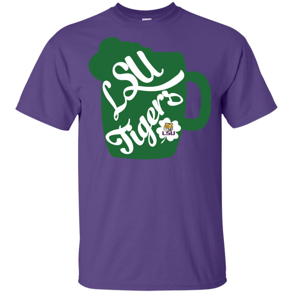 Amazing Beer Patrick's Day LSU Tigers T Shirts