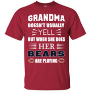 Grandma Doesn t Usually Yell Chicago Bears T Shirts