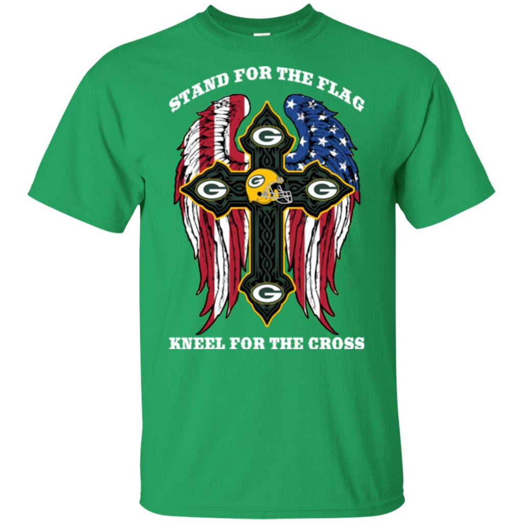 Stand For The Flag Kneel For The Cross Green Bay Packers T Shirts