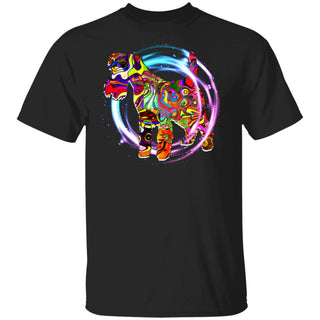 Psychedelic Schnauzer T Shirt Miniature Terrier Gift For Lover