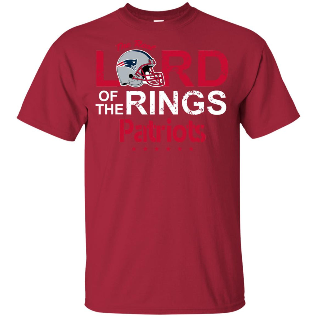 The Real Lord Of The Rings New England Patriots T Shirts