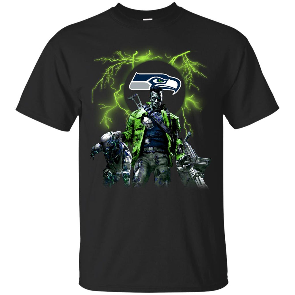 Guns Seattle Seahawks T Shirt - Best Funny Store