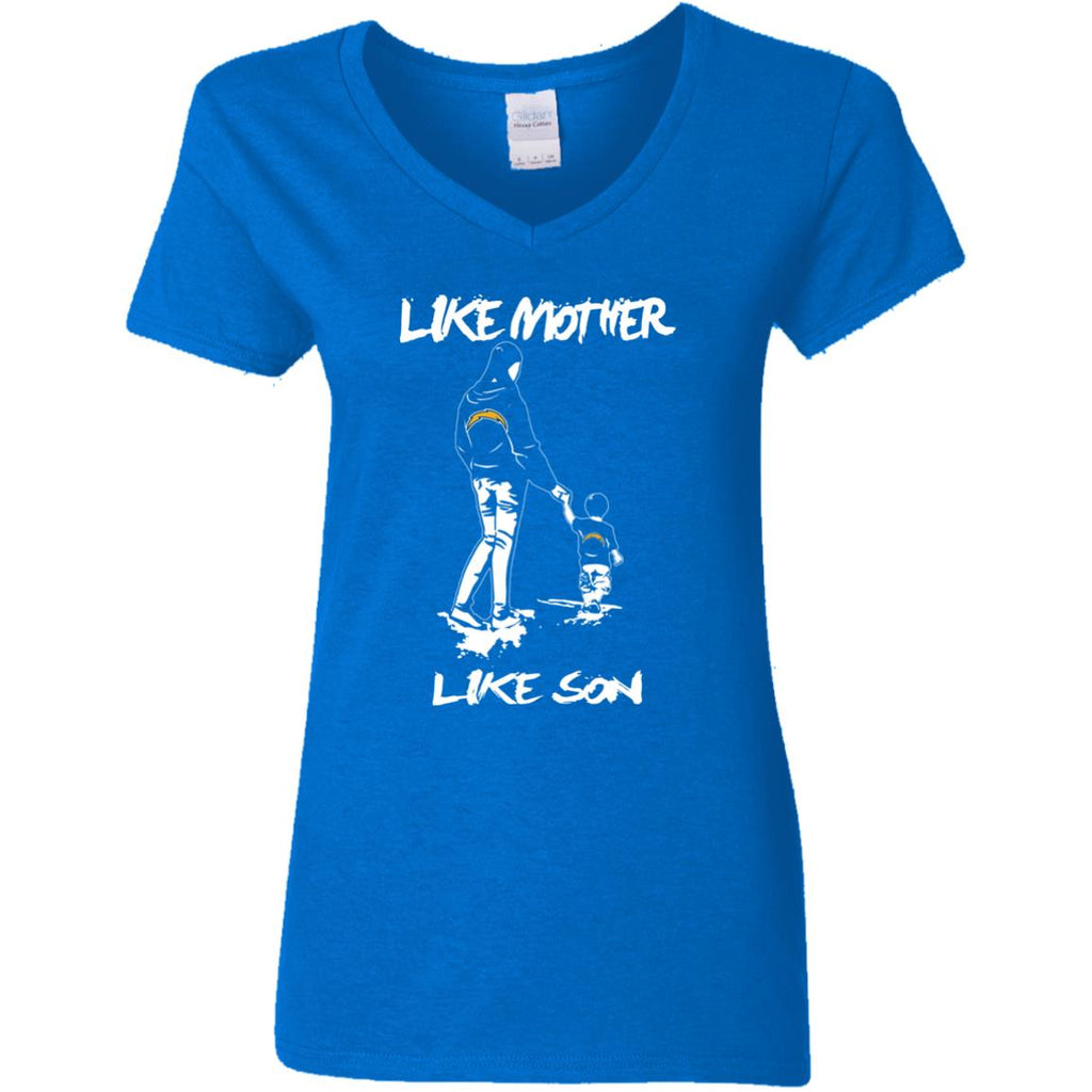 Like Mother Like Son Los Angeles Chargers T Shirt