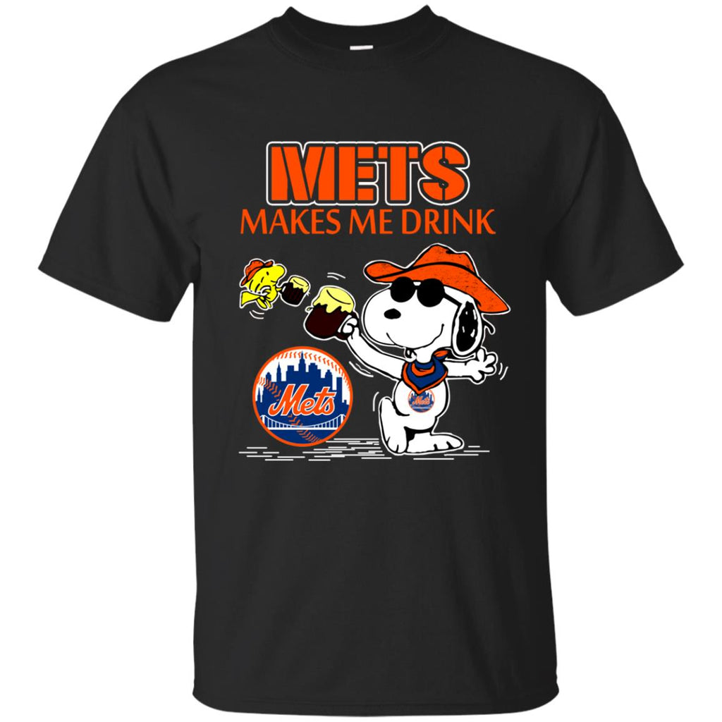 New York Mets Makes Me Drinks T Shirts