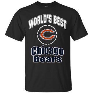 Amazing World's Best Dad Chicago Bears T Shirts