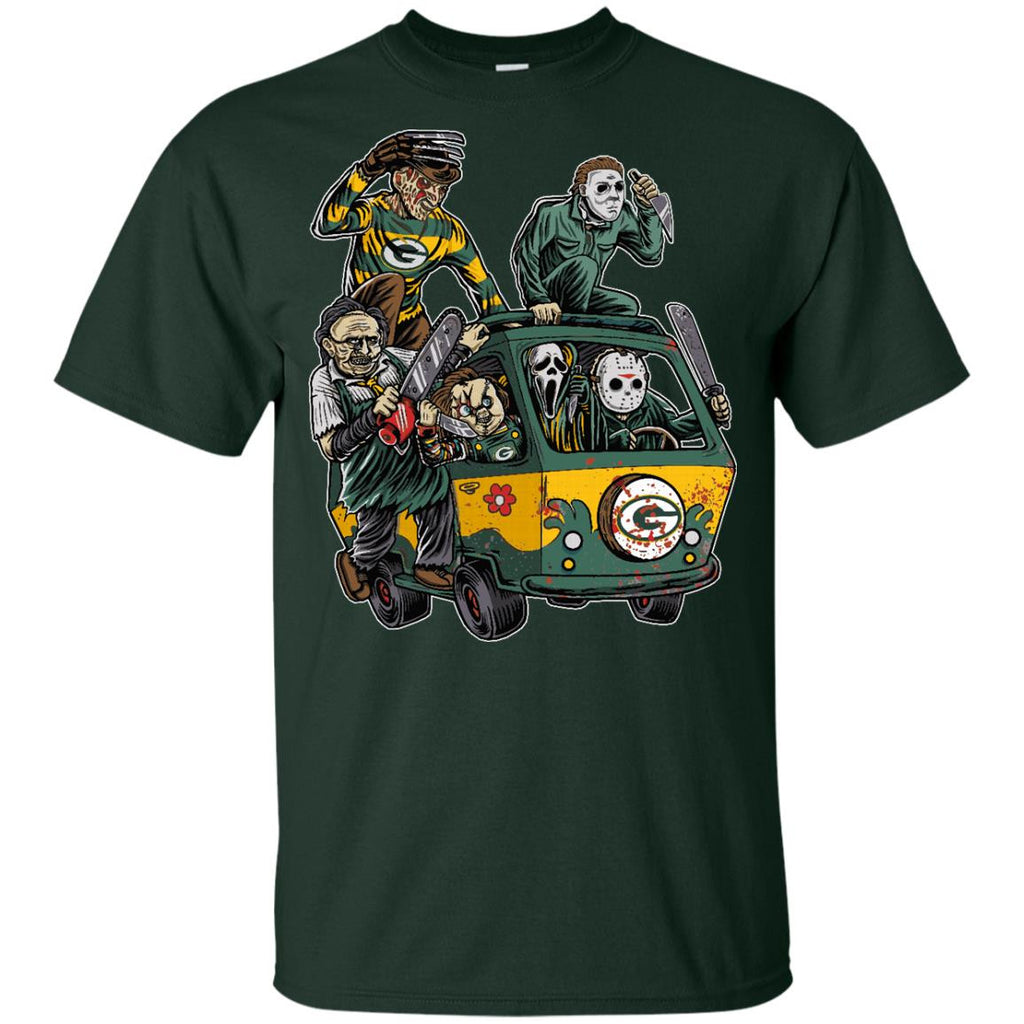The Massacre Machine Green Bay Packers T Shirt - Best Funny Store