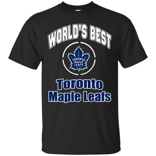 Amazing World's Best Dad Toronto Maple Leafs T Shirts