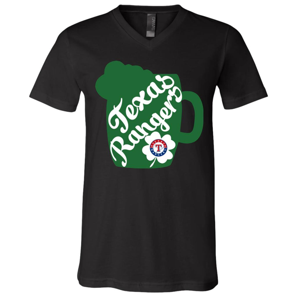 Amazing Beer Patrick's Day Texas Rangers T Shirts