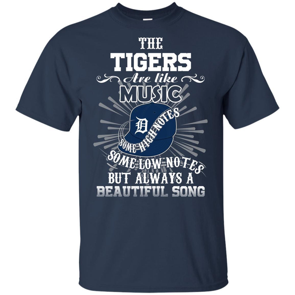 The Detroit Tigers Are Like Music T Shirt