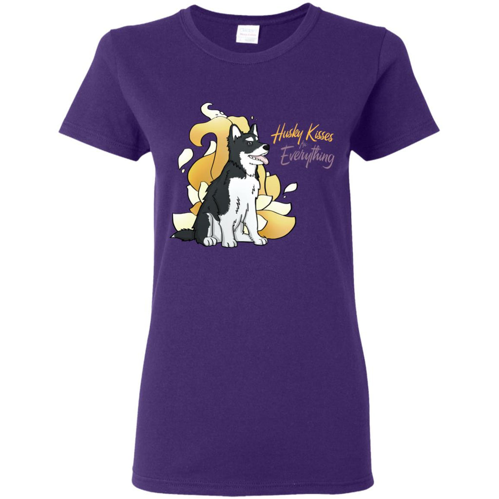 Husky Kisses Fix Everything T Shirts