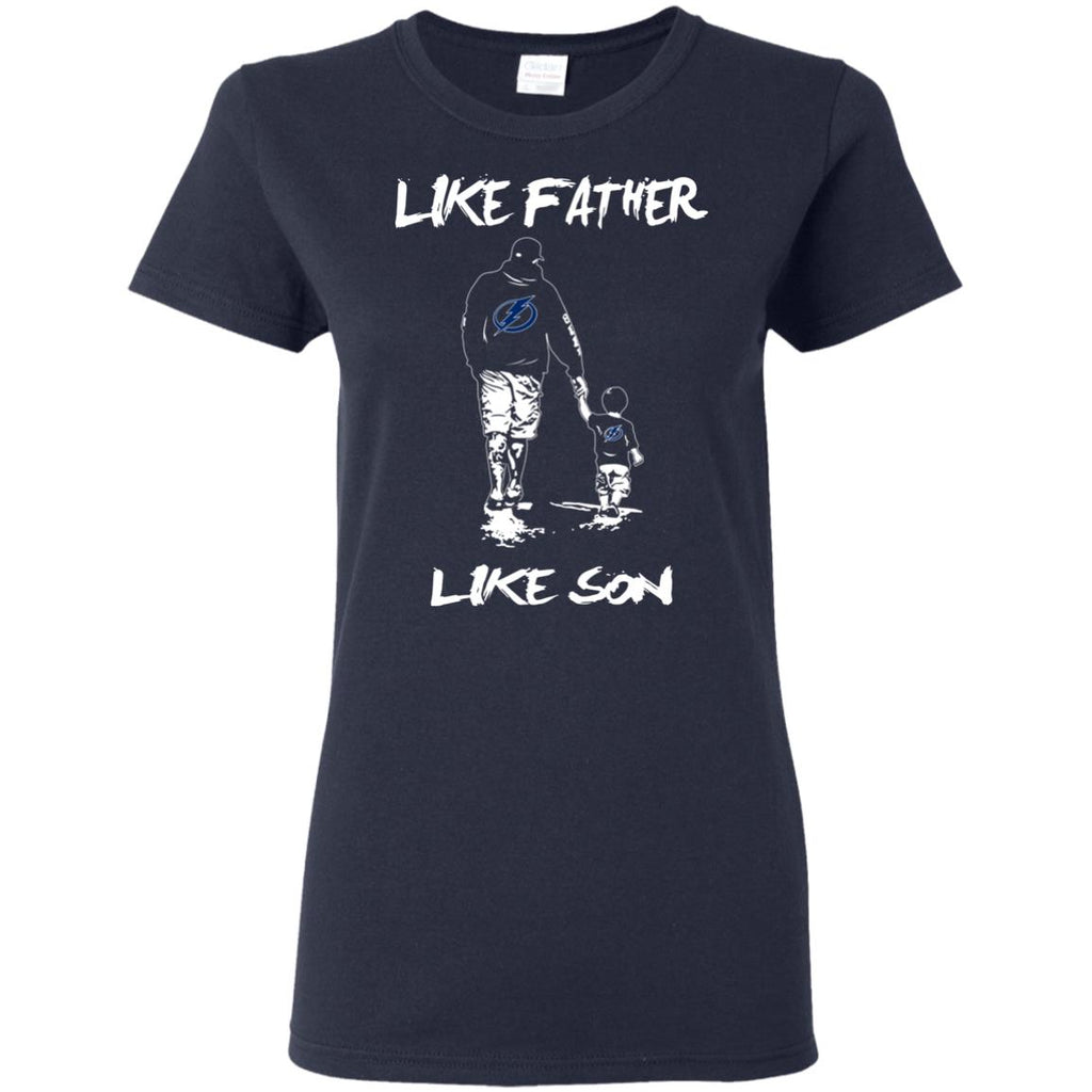Like Father Like Son Tampa Bay Lightning T Shirt