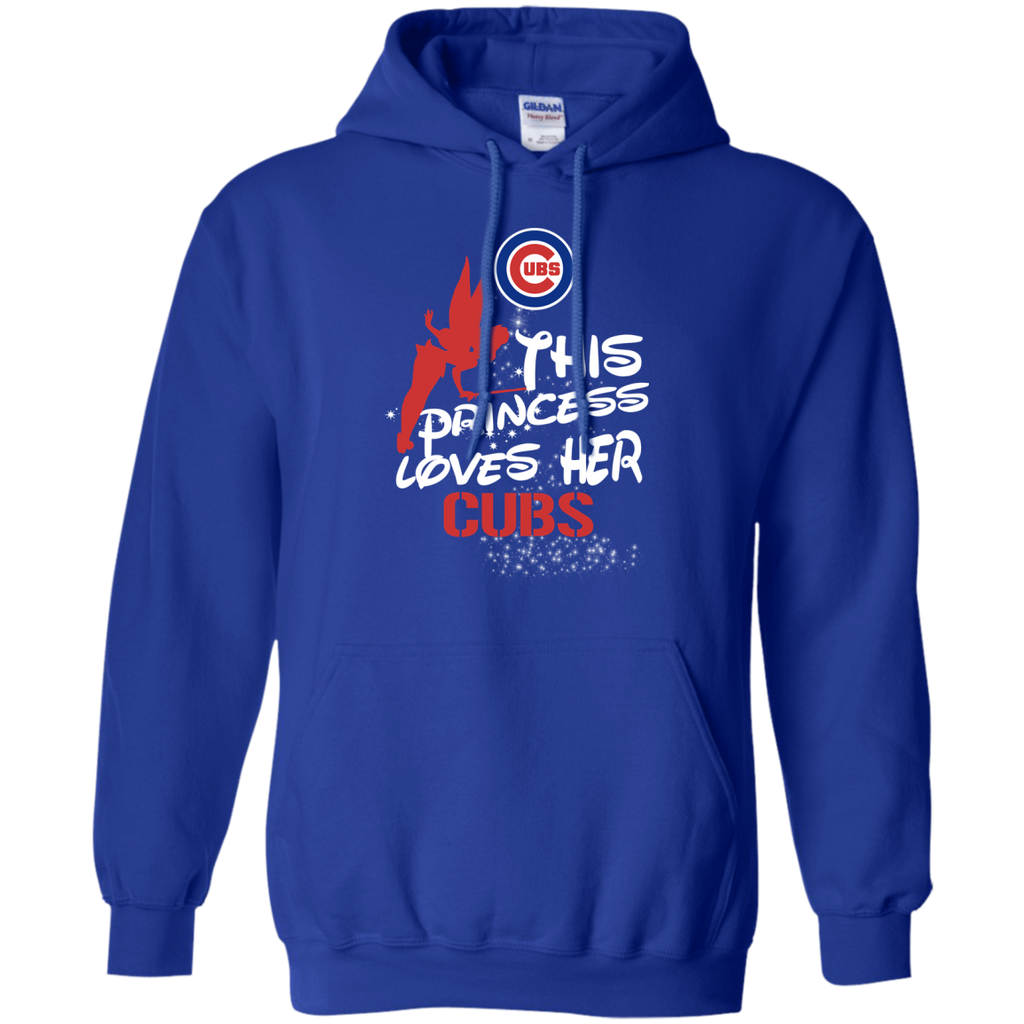 This Princess Love Her Chicago Cubs T Shirts