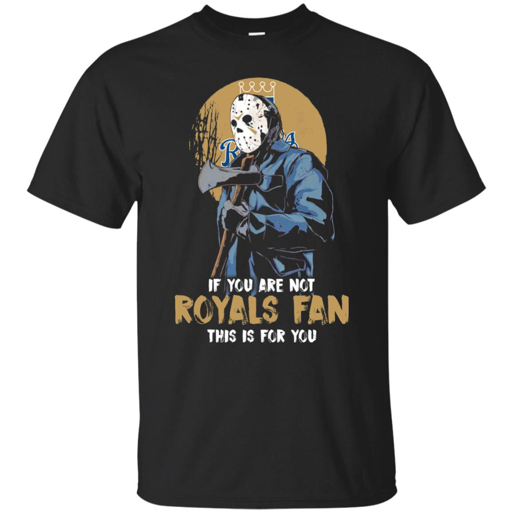 Jason With His Axe Kansas City Royals T Shirts