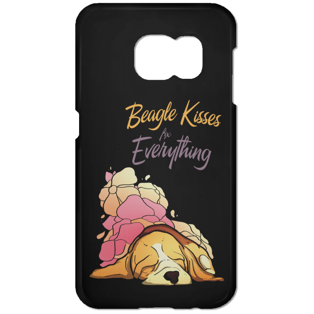 Beagle Kisses Fix Everything Phone Cases