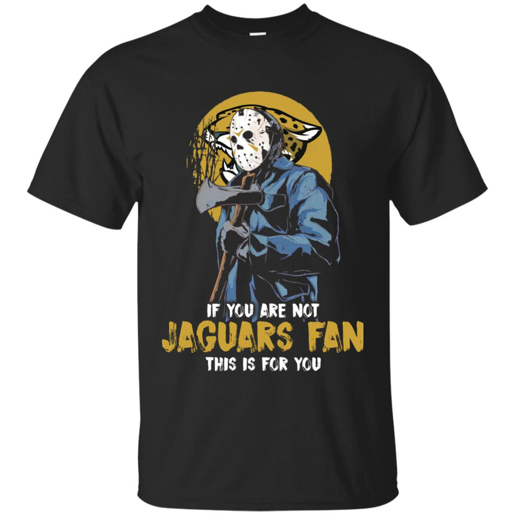 Jason With His Axe Jacksonville Jaguars T Shirts