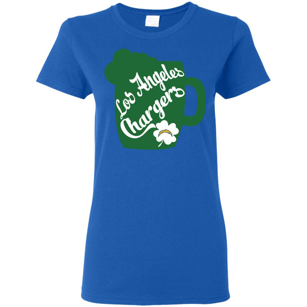 Amazing Beer Patrick's Day Los Angeles Chargers T Shirts
