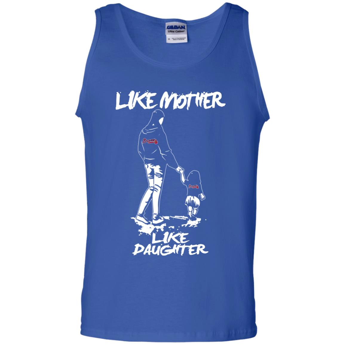 Like Mother Like Daughter Atlanta Braves T Shirts