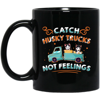 Catch Husky Trucks Mugs