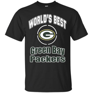 Amazing World's Best Dad Green Bay Packers T Shirts