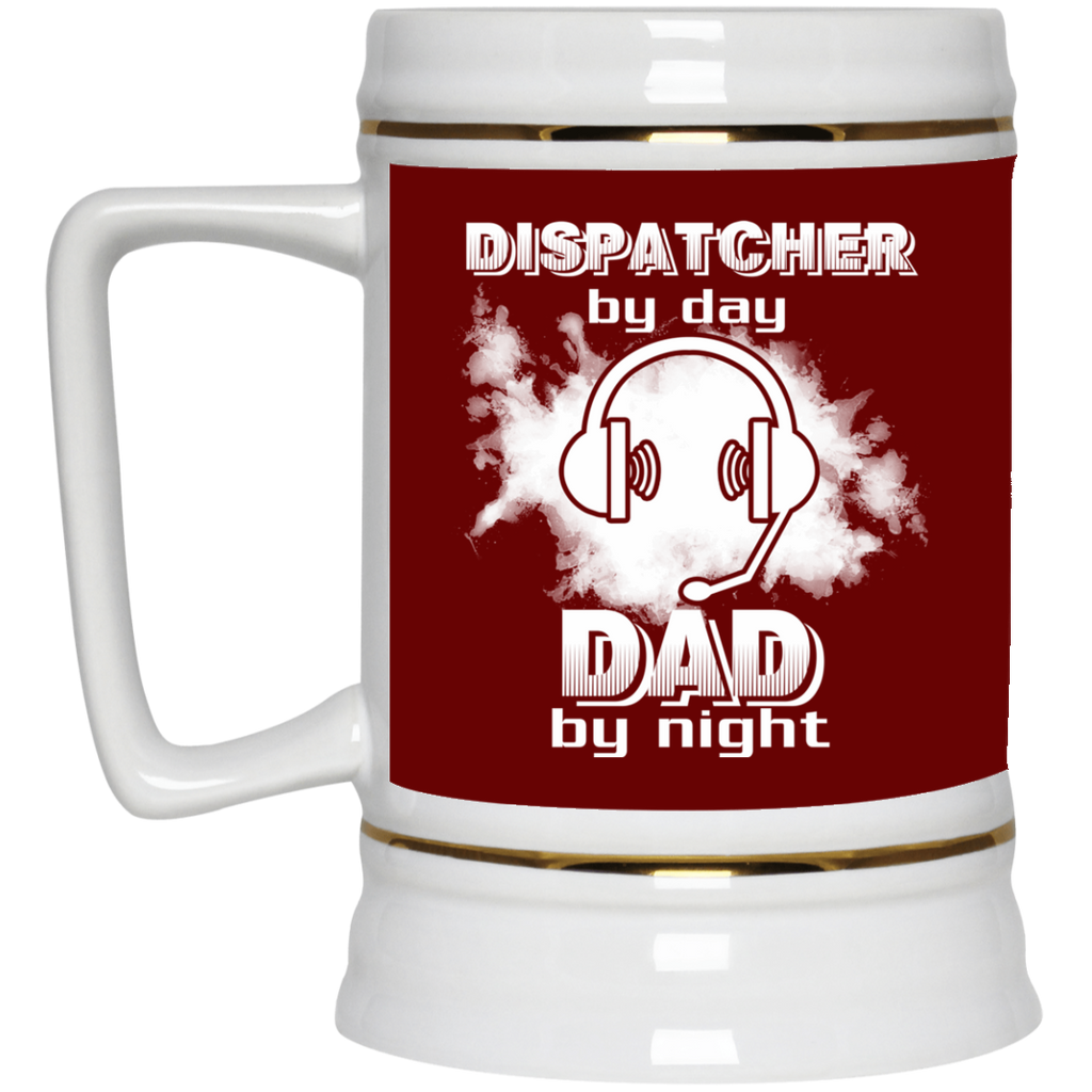 Dispatcher By Day Dad By Night Mugs