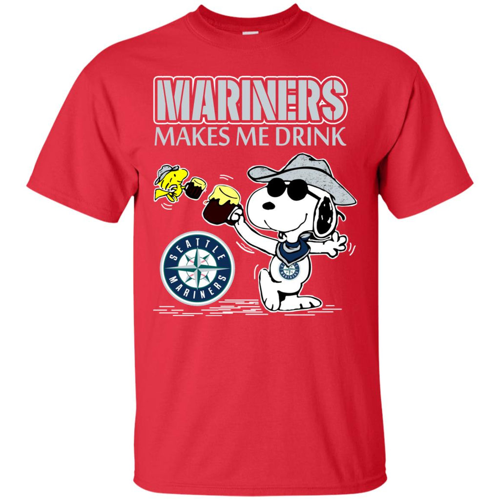 Seattle Mariners Makes Me Drinks T Shirts