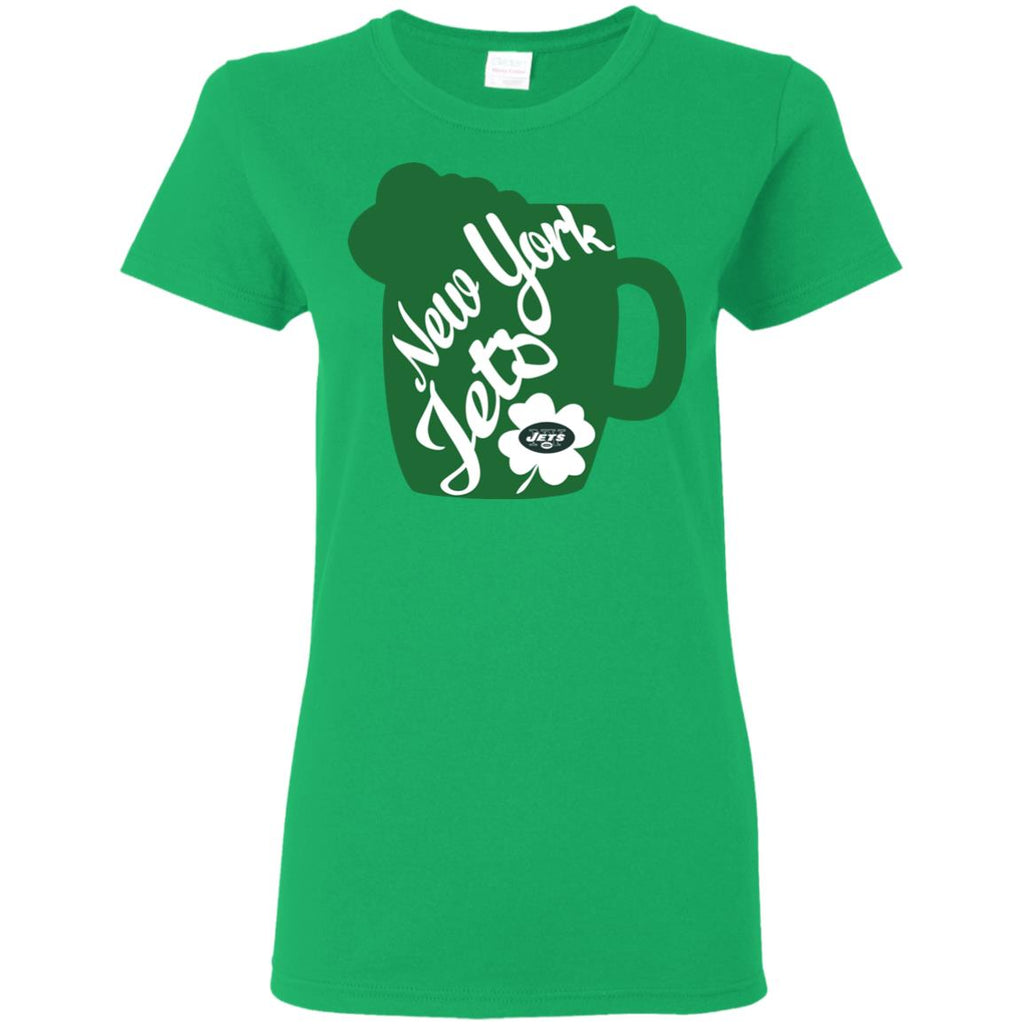 Amazing Beer Patrick's Day New York Jets T Shirts