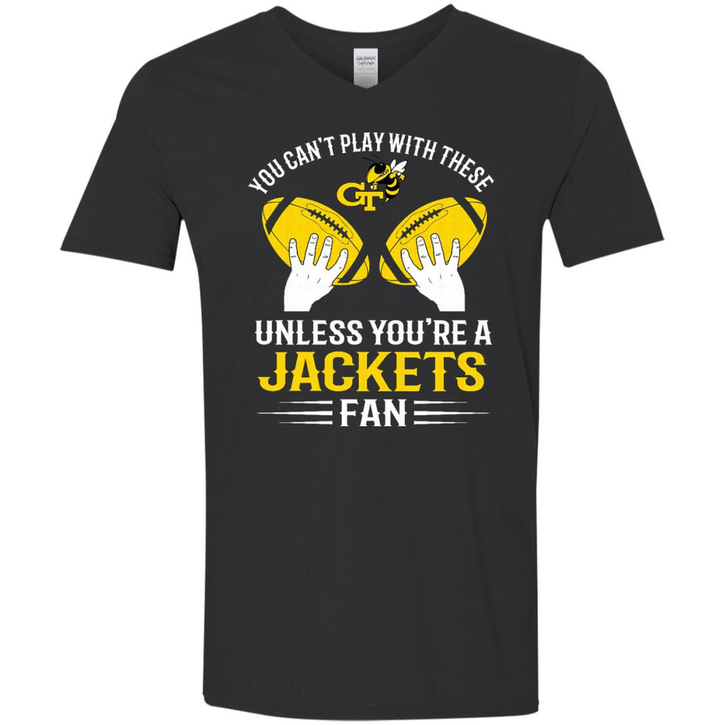Play With Balls Georgia Tech Yellow Jackets T Shirt - Best Funny Store