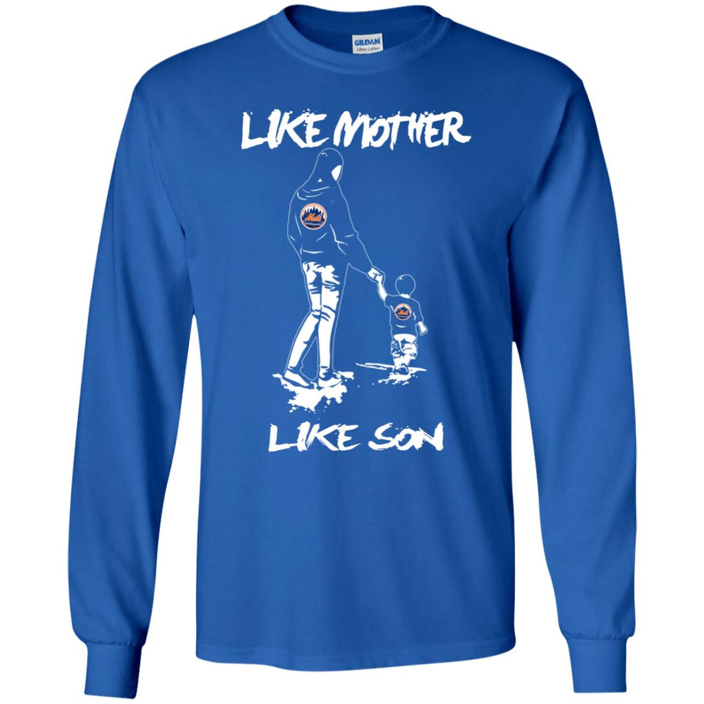 Like Mother Like Son New York Mets T Shirt