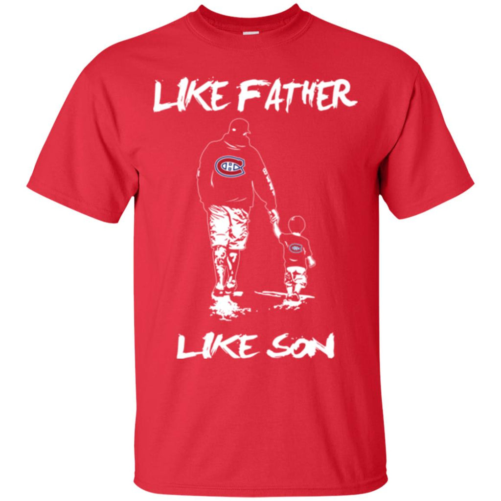Like Father Like Son Montréal Canadiens T Shirt