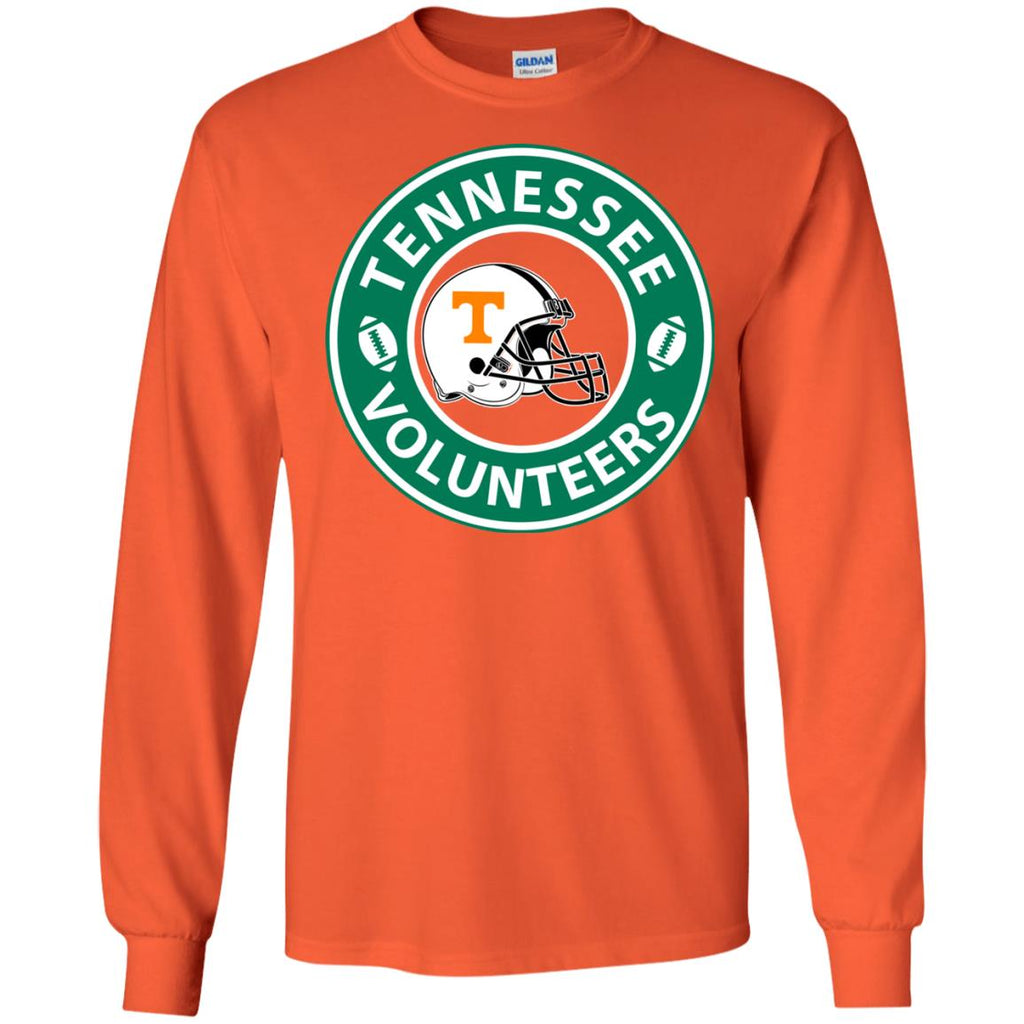 Starbucks Coffee Tennessee Volunteers T Shirts