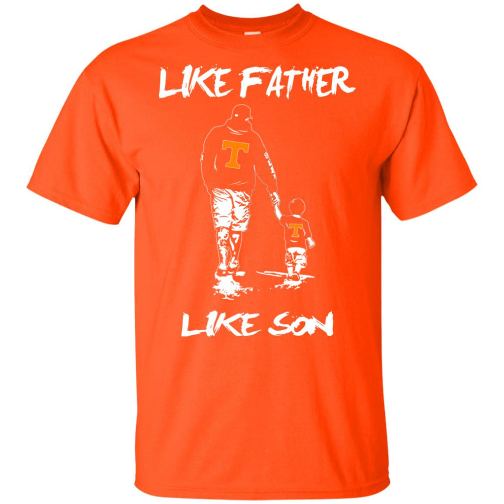 Like Father Like Son Tennessee Volunteers T Shirt