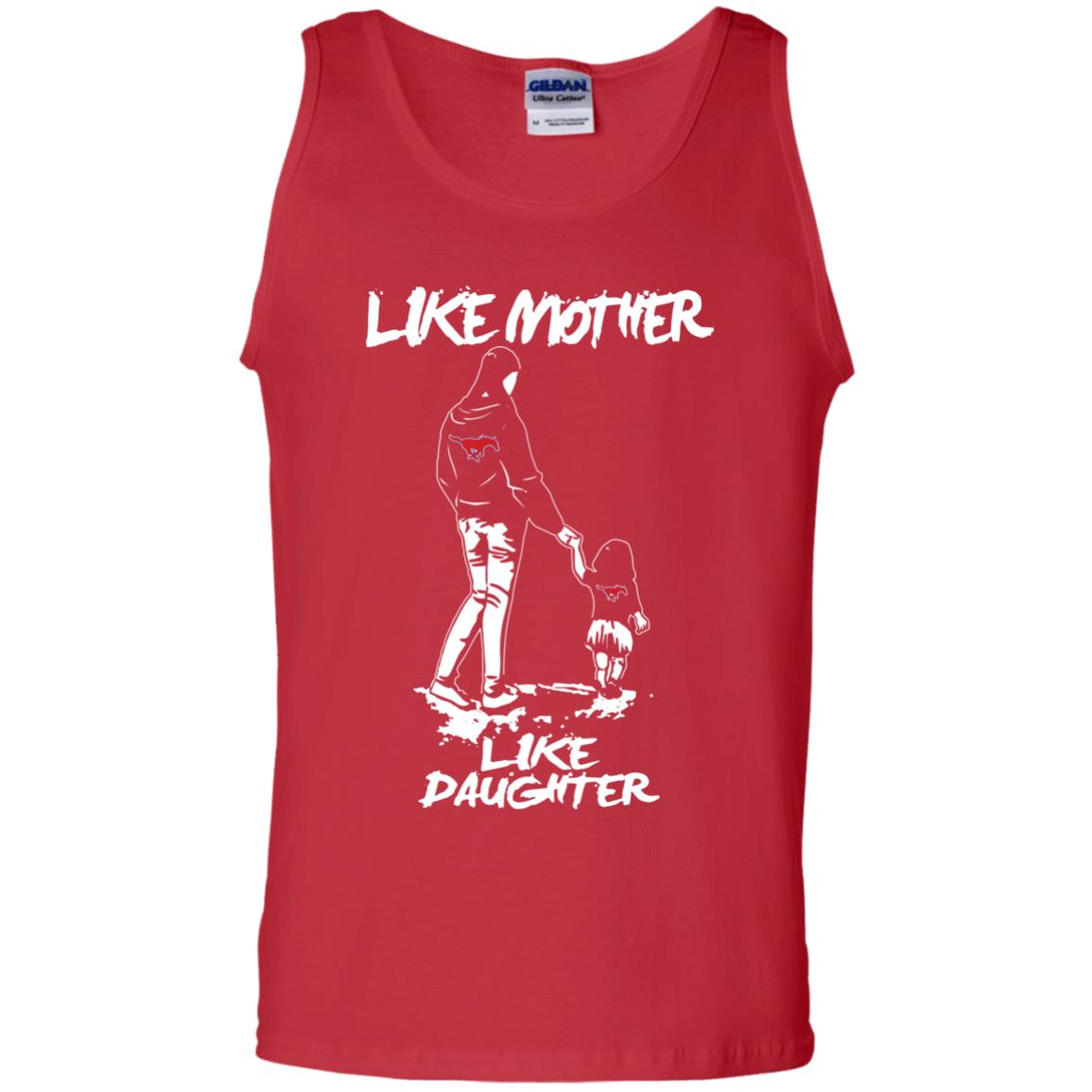 Like Mother Like Daughter SMU Mustangs T Shirts