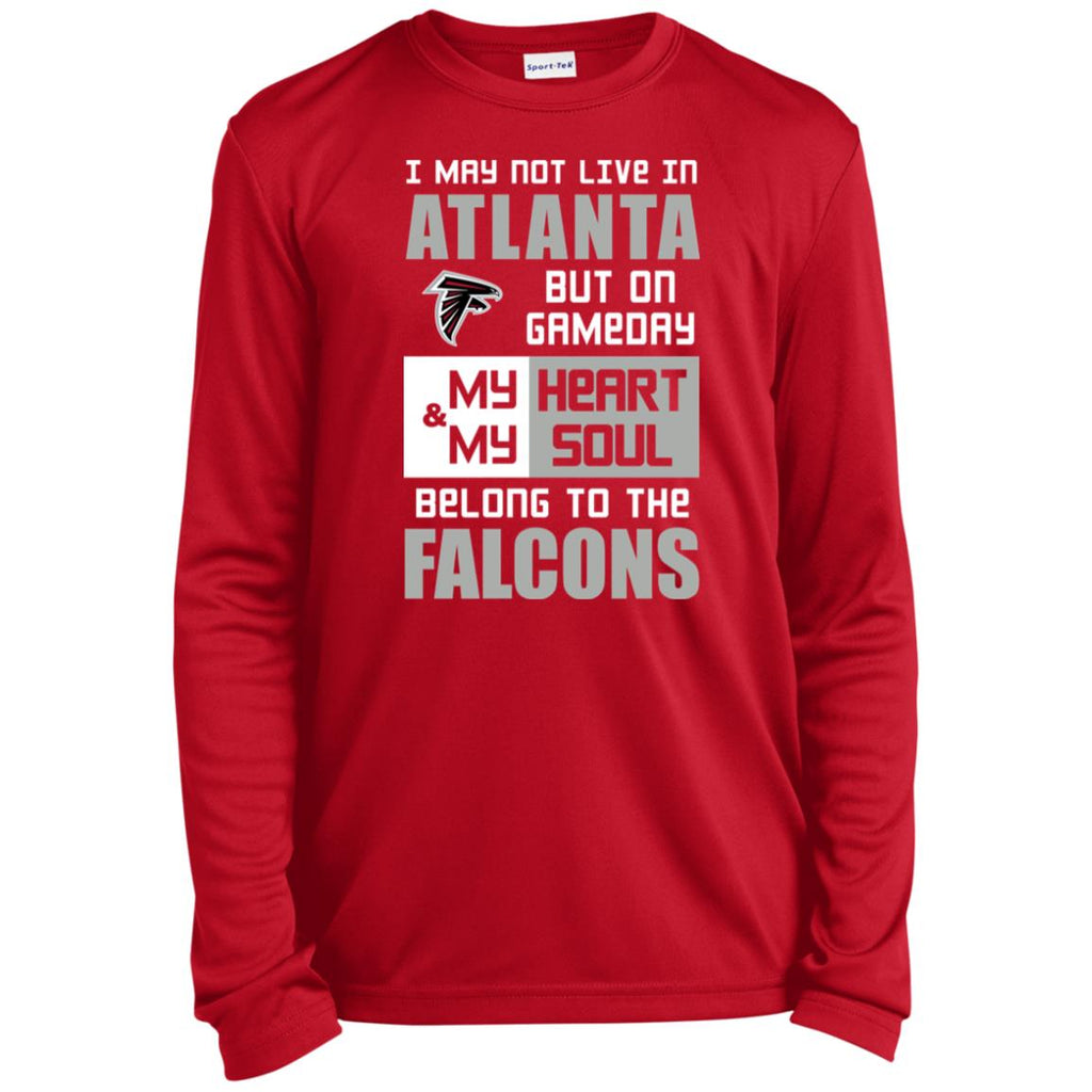 Top My Heart And My Soul Belong To The Falcons T Shirts