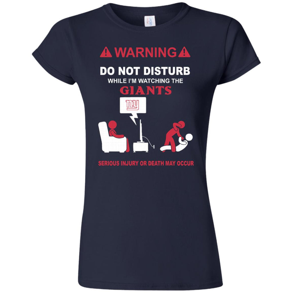 Do Not Disturb TV New York Giants T Shirt - Best Funny Store