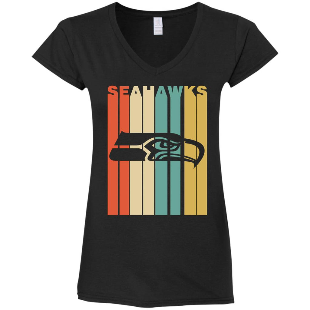 Vintage Style Seattle Seahawks T Shirt - Best Funny Store