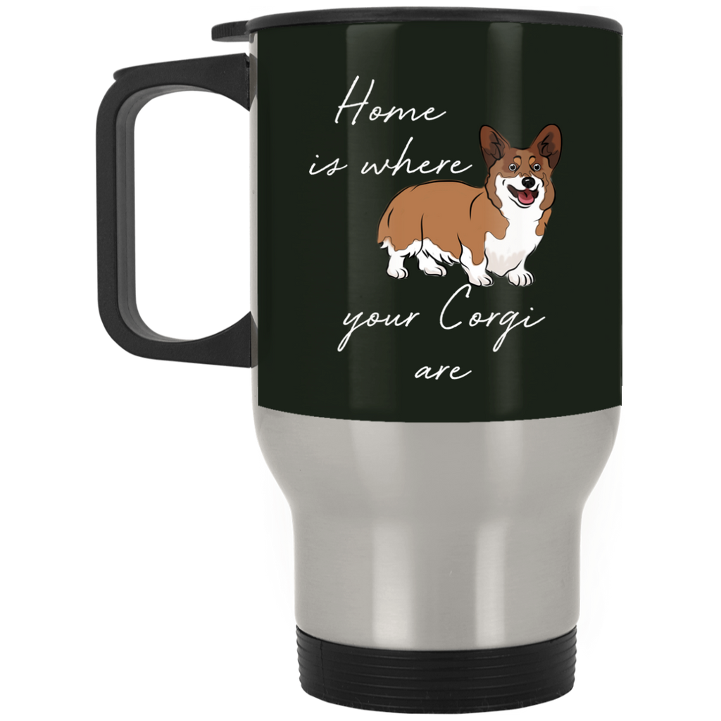 Home Is Where My Corgis Are Mugs