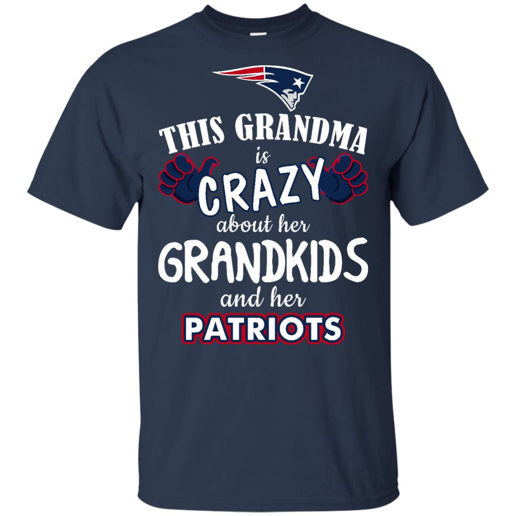 This Grandma Is Crazy About Her Grandkids And Her New England Patriots T Shirts