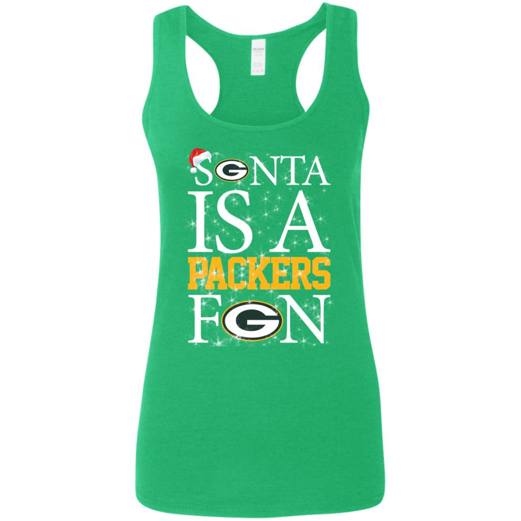 Santa Is A Green Bay Packers Fan T Shirts