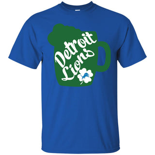 Amazing Beer Patrick's Day Detroit Lions T Shirts