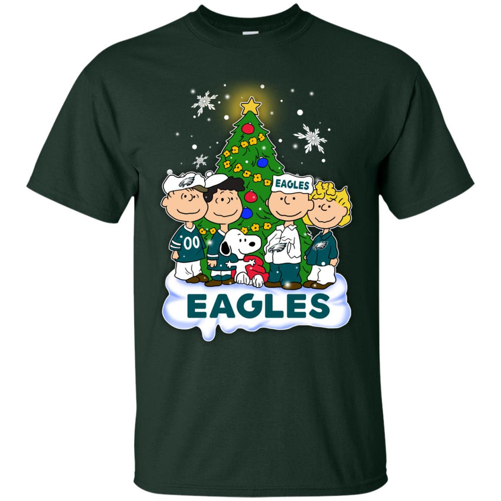 Snoopy The Peanuts Philadelphia Eagles Christmas Sweaters