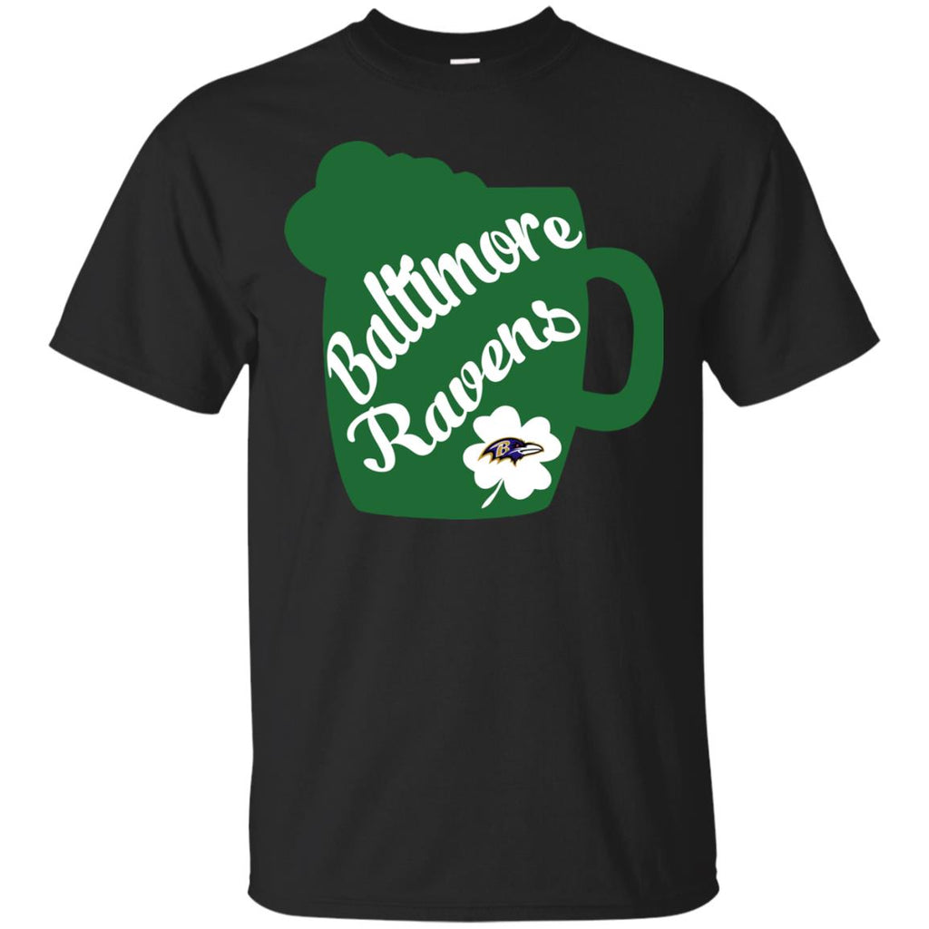 Amazing Beer Patrick's Day Baltimore Ravens T Shirts