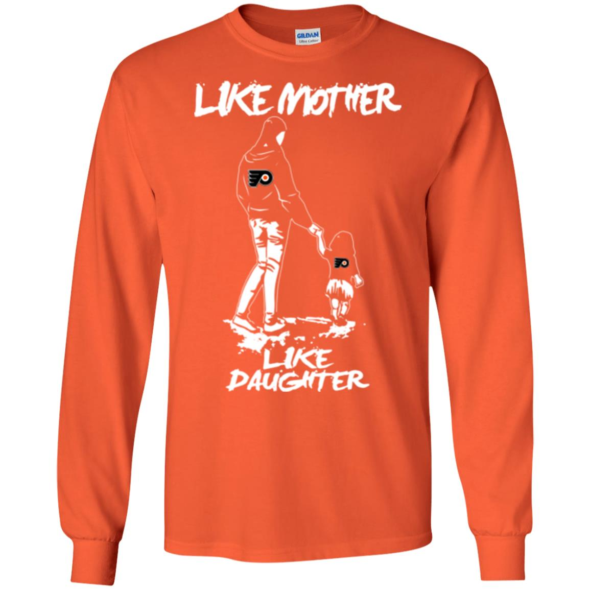 Like Mother Like Daughter Philadelphia Flyers T Shirts