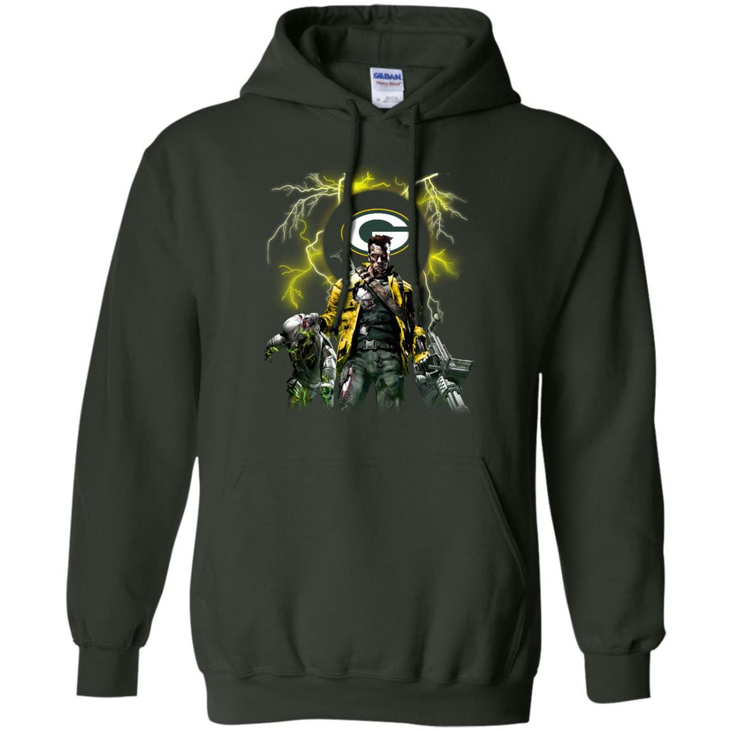 Guns Green Bay Packers T Shirt - Best Funny Store