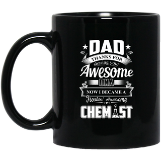 Dad Thanks For Sharing Your DNA Chemist Mugs