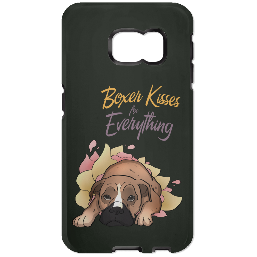 Boxer Kisses Fix Everything Phone Cases