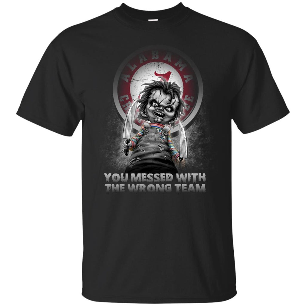 You Messed With The Wrong Alabama Crimson Tide T Shirts