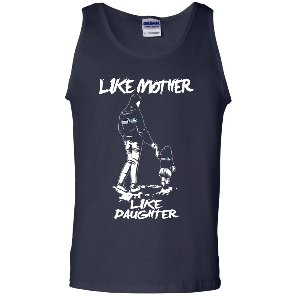 Like Mother Like Daughter Seattle Seahawks T Shirts